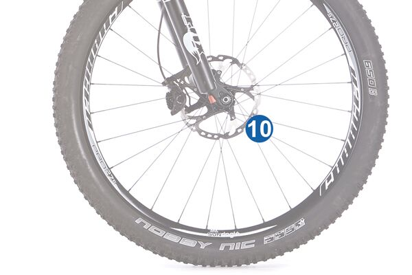 MB 0314 All-Mountains optimales Bike 10