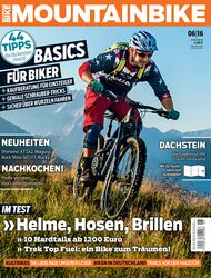 MB MOUNTAINBIKE 06/16 Heft-Cover