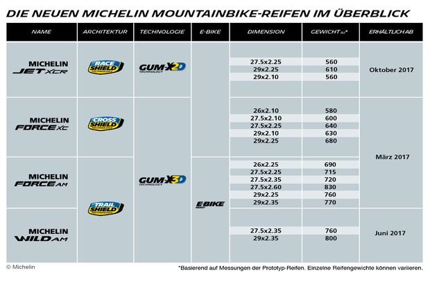 MB Michelin Infografik