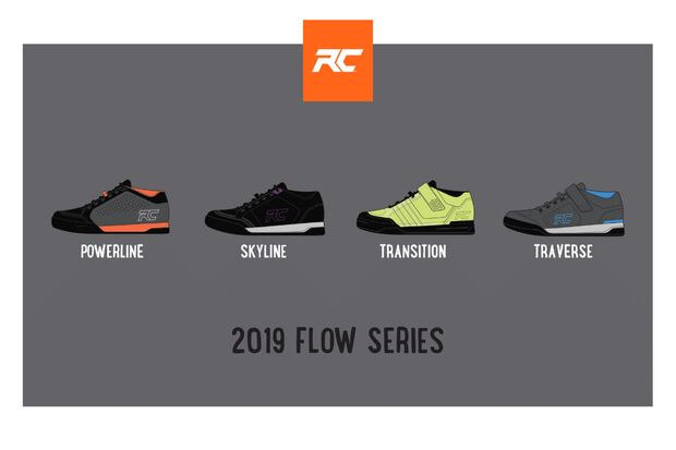MB Ride Concepts Mountainbikeschuhe Flow series 2019