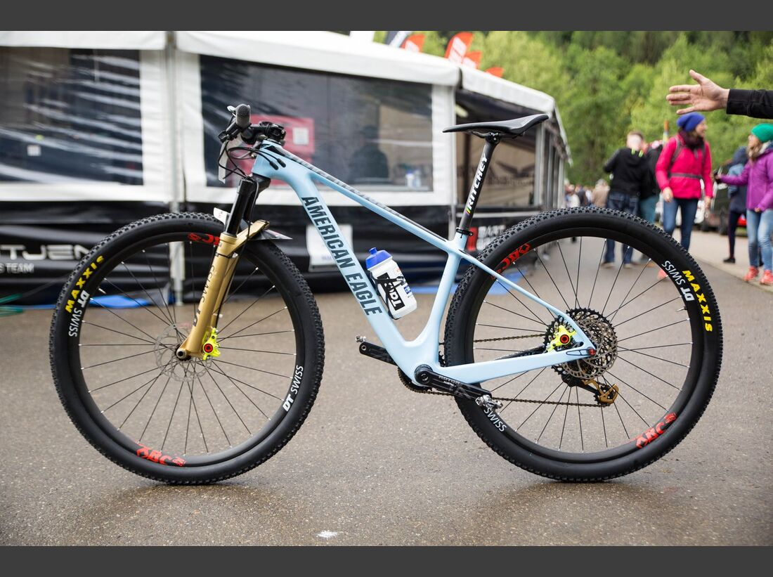 MB WC Albstadt World Cup Bikes 2018 Belomoina Fullshot